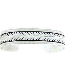 Montana Silversmiths Women's Silver Vine Bracelet Cuff, , hi-res