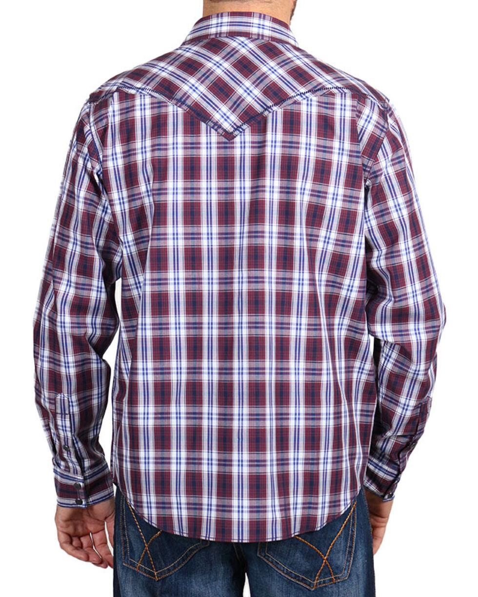 Cody James® Men's Western Plaid Long Sleeve Shirt, , hi-res