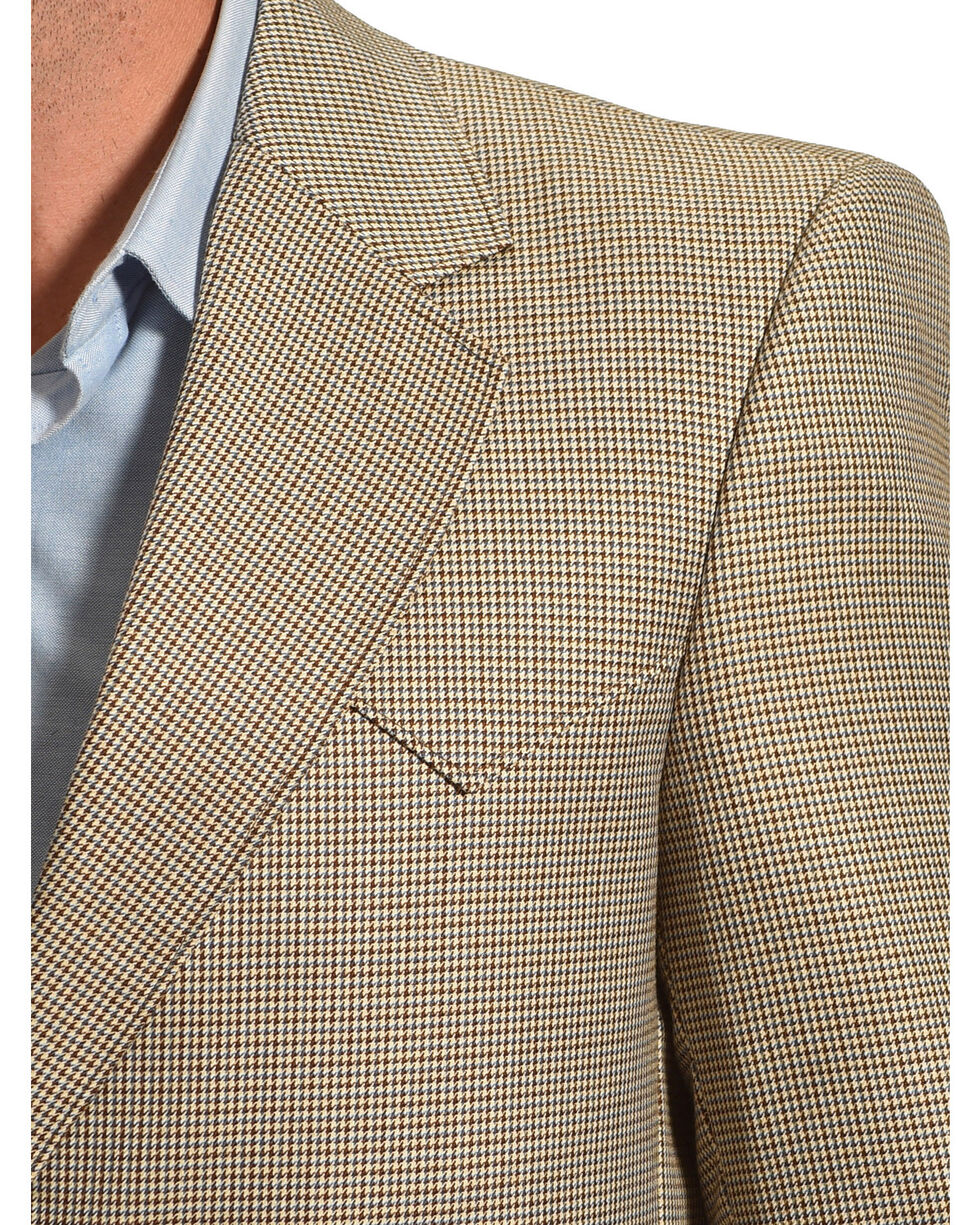 Circle S Men's Lubbock Sport Coat, Brown, hi-res