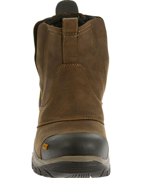 Caterpillar Men's Brown Jointer Waterproof Work Boots - Composite Toe , Grey, hi-res