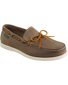 Eastland Men's Grey Yarmouth Camp Moc Slip On, Tan, hi-res