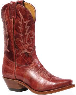 Boulet Puma Rojo Cowgirl Boots - Snip Toe, Rojo, hi-res