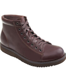 Eastland Men's Dark Walnut Aiden Lace Up Boots , , hi-res
