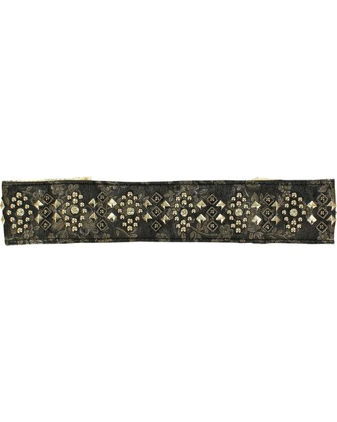 Blazin Roxx Studded Headband, Black, hi-res