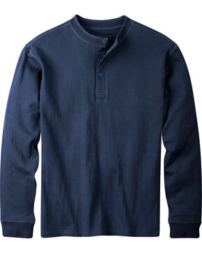 Mountain Khakis Men's Navy Trapper Henley Shirt, Navy, hi-res