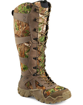 Red Wing Irish Setter Men's Vaprtrek Realtree Xtra Snake Boots - Round Toe , Camouflage, hi-res