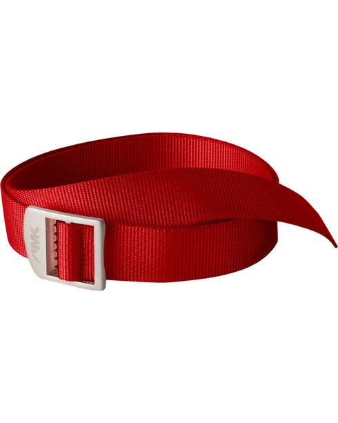 Mountain Khakis Red Webbing Belt  , Red, hi-res