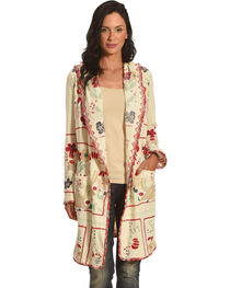 Johnny Was Women's Natural Doshi Hoodie , , hi-res