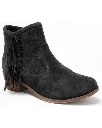 Women's Blake Fringe Boot Round Toe