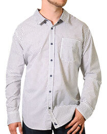 Cody James® Print Long Sleeve Western Shirt, , hi-res