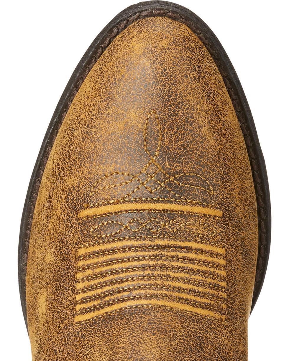 Ariat Women's Brown Desert Sky Vintage Bomber Boots - Round Toe , Brown, hi-res