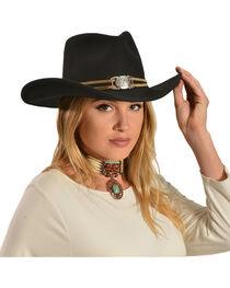Juniper Wool Felt Cowgirl Hat, , hi-res