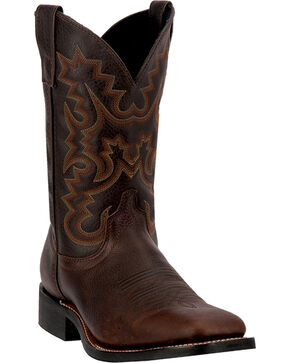 Laredo Men's Cowboy Approved Fremont Boots, Copper, hi-res
