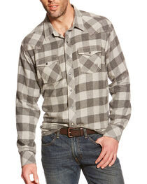 Ariat Men's Natoma Long Sleeve Flannel Shirt, , hi-res