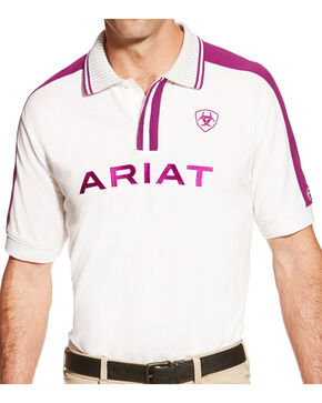 Ariat Men's FEI World Cup New Team Polo, Multi, hi-res