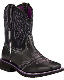 Ariat Women's Ranchbaby II Western Boots, , hi-res