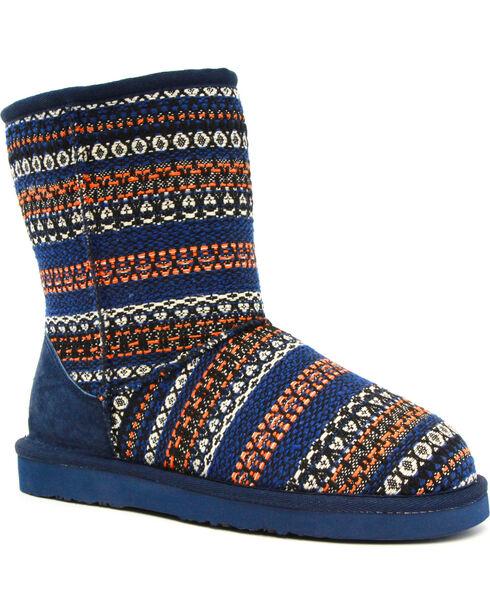 Lamo Footwear Kid's Juarez Boots , Blue, hi-res
