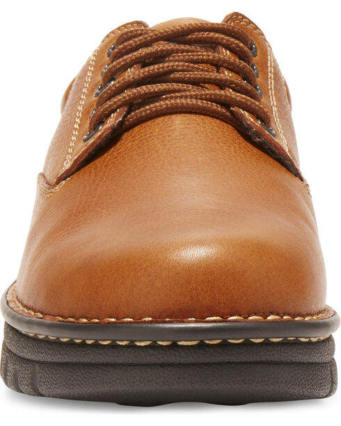 Eastland Men's Brown Plainview Oxfords , Tan, hi-res