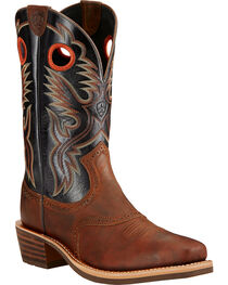 Ariat Men's Heritage Rough Stock Western Boots, , hi-res
