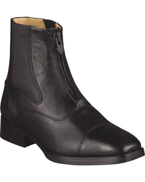 Ariat Women's Monaco Zip Riding Boots, Black, hi-res