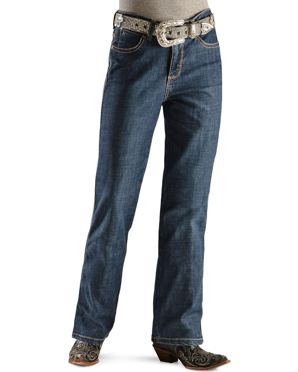 Aura by Wrangler Women's Slimming Stretch Jeans, Denim, hi-res