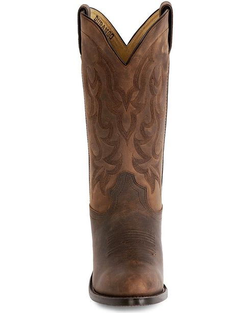 "Durango Men's 12"" Western Cowboys Boots, Distressed, hi-res"