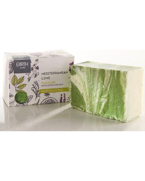 Gift Craft Mediterranean Lime Salt All Natural Soap, No Color, hi-res
