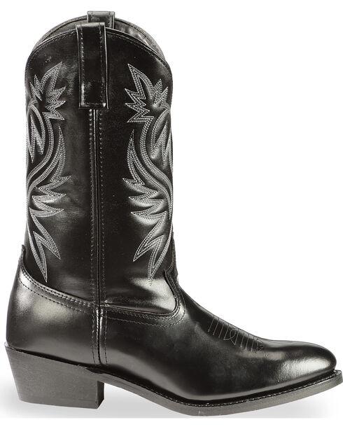 "Laredo Men's Western Cowboy 12"" Western Boots, Black, hi-res"
