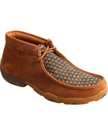 Twisted X Men's Driving Moc Toe Shoes, , hi-res