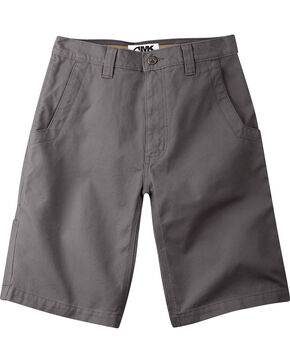 "Mountain Khakis Men's Alpine Relaxed Fit Utility Shorts - 9"" Inseam, Slate, hi-res"