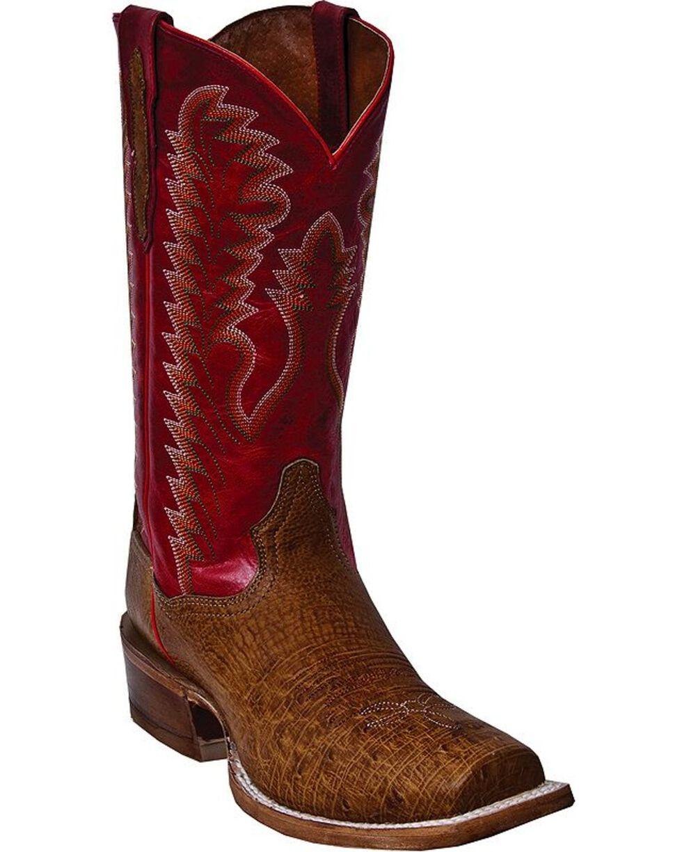 Laredo Men's Carson Western Boots, Antique Saddle, hi-res