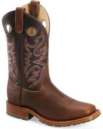 Double-H Men's Steel Toe Western Work Boots, , hi-res