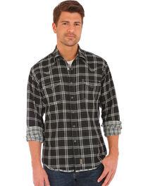 Wrangler Retro Men's Double-Faced Plaid Long Sleeve Snap Shirt, , hi-res
