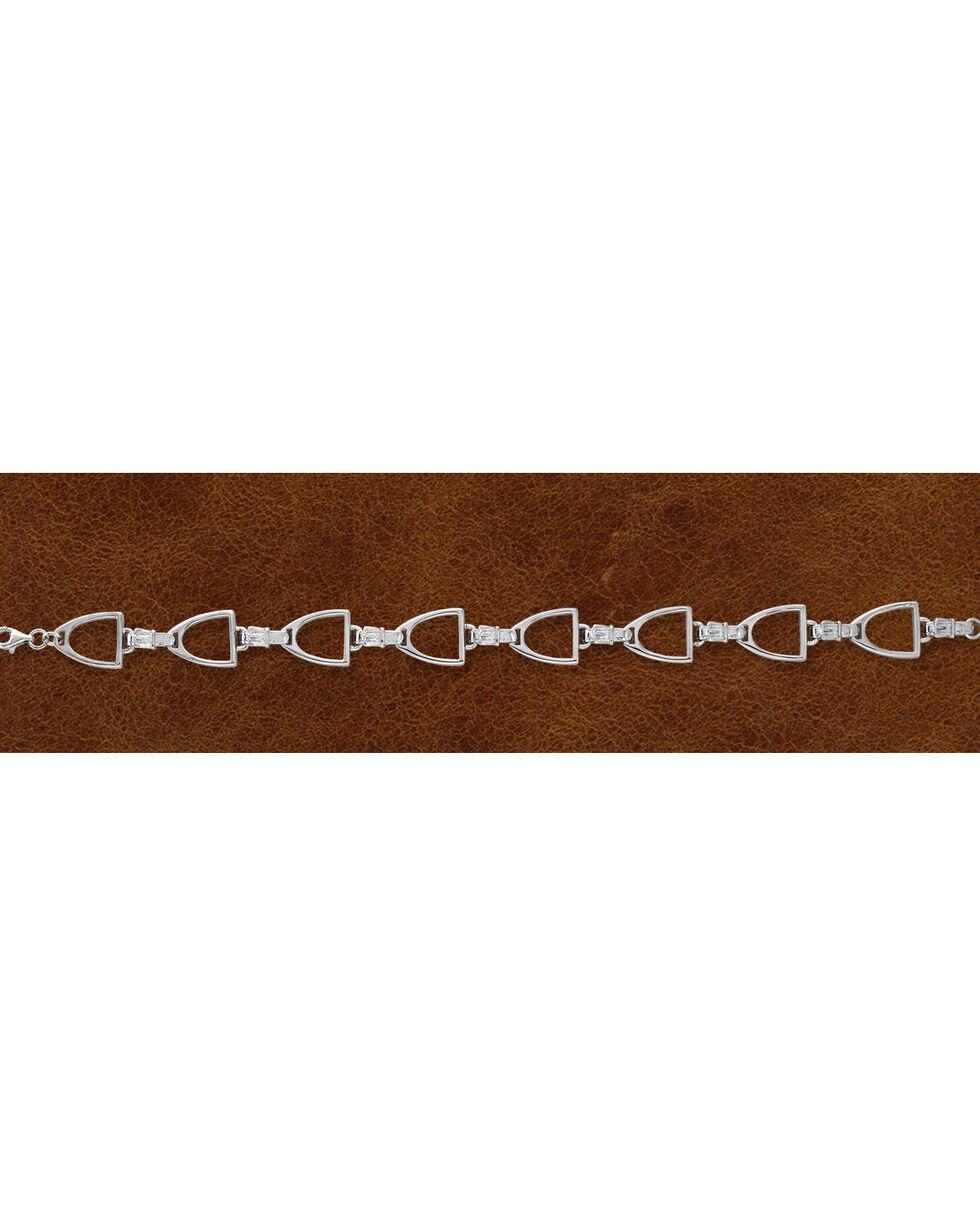 Kelly Herd Women's Sterling Silver English Stirrup Bracelet, Silver, hi-res