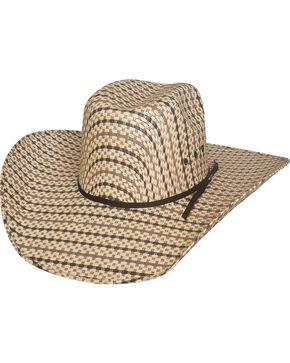Bullhide Men's Bronc Ballet 50X Straw Cowboy Hat, Natural, hi-res