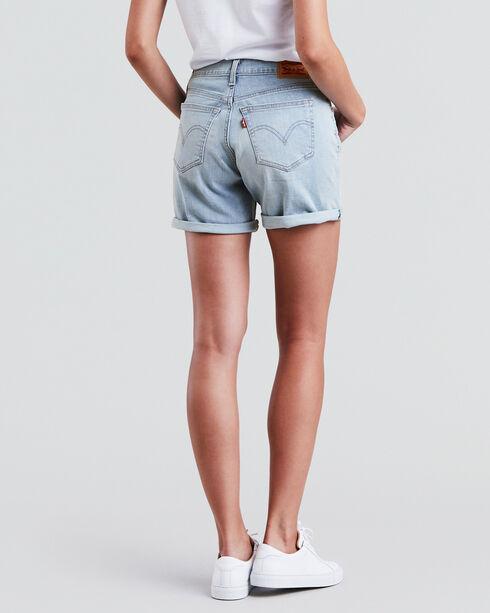 Levi's Women's Misty Waterfall Classic Shorts, Indigo, hi-res