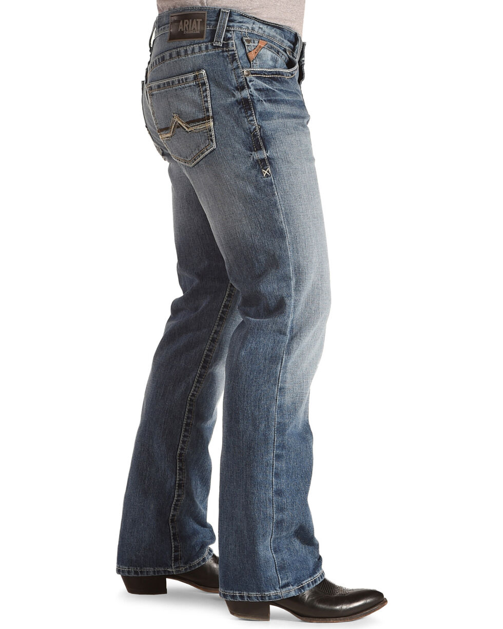 Ariat Men's M4 Maxwell Low Rise Relaxed Fit Jeans - Boot Cut, , hi-res