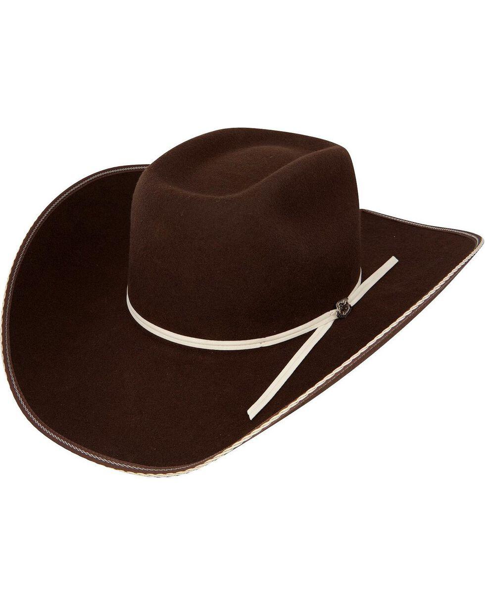 Resistol 4X Snake Eyes Cowboy Hat, Cordovan, hi-res