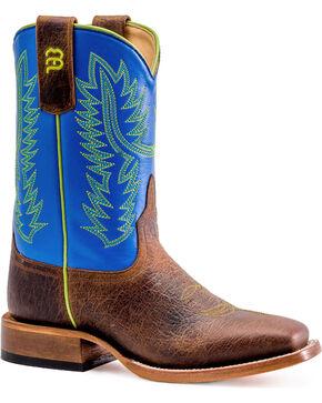 Anderson Bean Boys' Monday Blues Boots - Square Toe , Tan, hi-res