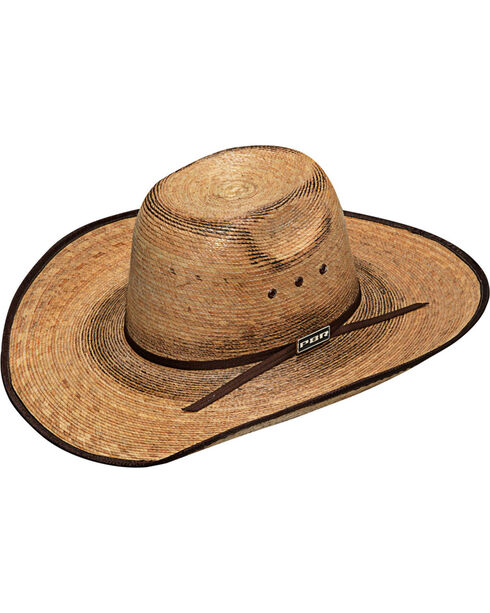 Twister Boys' PBR Fired Palm Hat , Natural, hi-res
