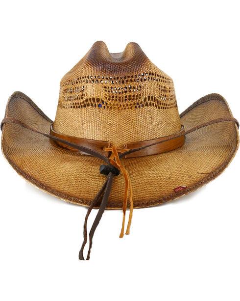 Bullhide Wheel Horse Straw Hat, Natural, hi-res