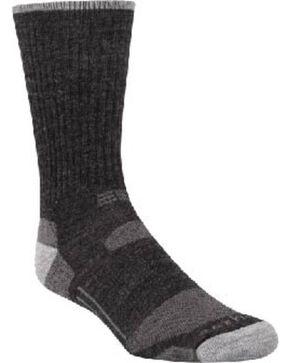 Carhartt Charcoal Work-Dry® All-Terrain Crew Socks, Charcoal Grey, hi-res