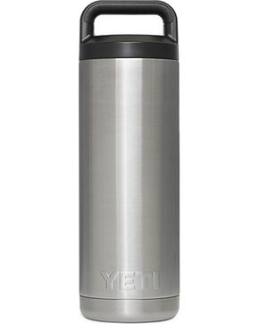 YETI Coolers 18 Oz Rambler Bottle, Stainless, hi-res