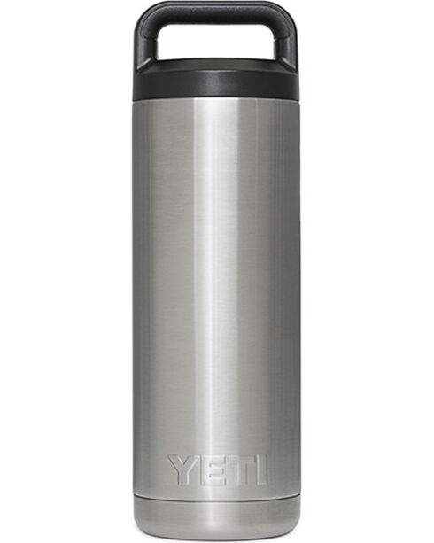 YETI Coolers 18 Oz Rambler Bottle, Stainless, hi-res