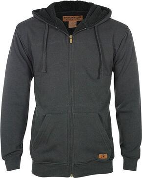 American Worker® Men's Jackrabbit Hoodie, Charcoal, hi-res