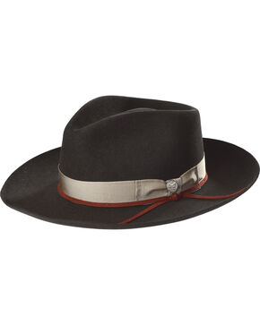 Stetson Men's Black Wynwood Hat , Black, hi-res
