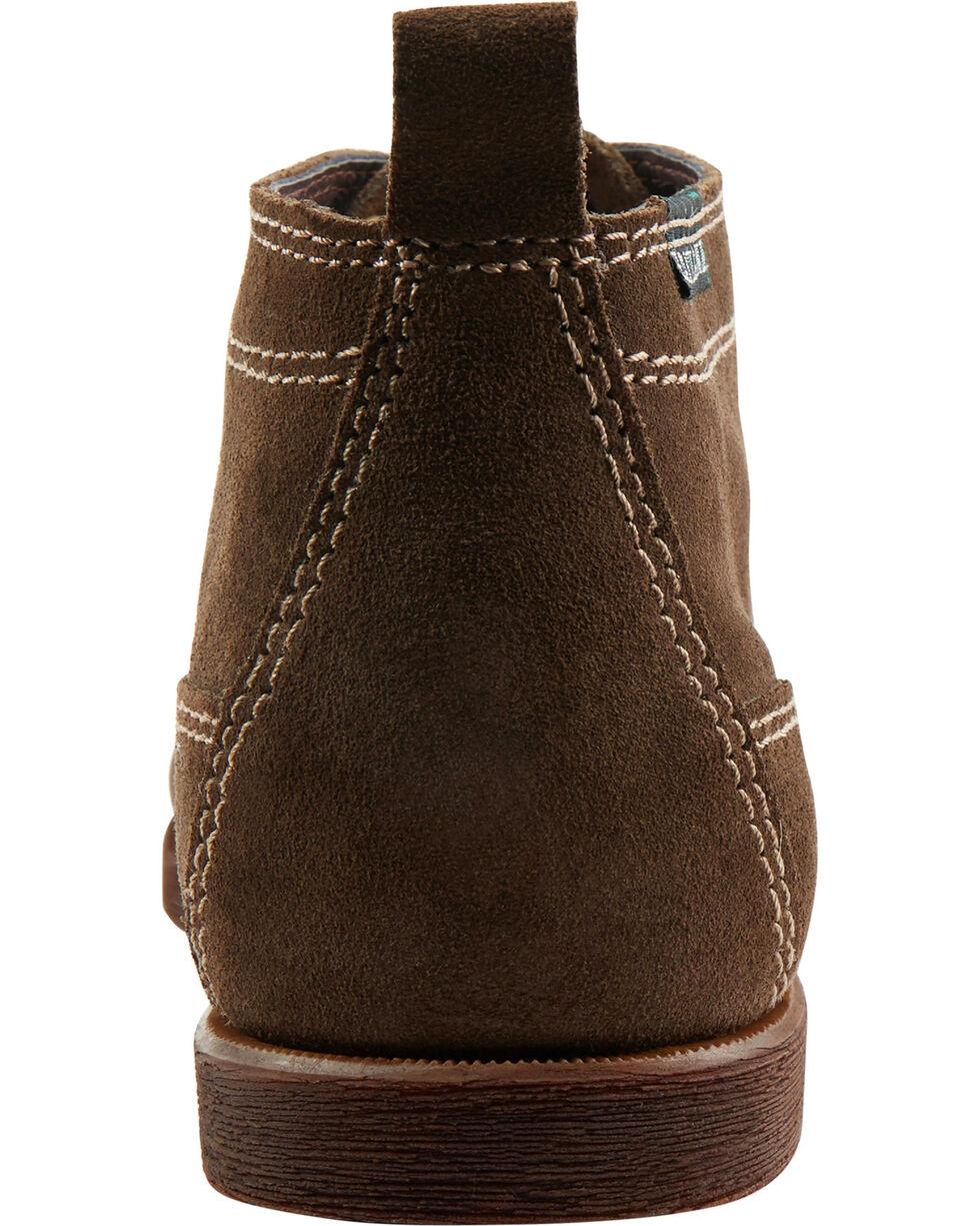 Eastland Men's Dark Olive Suede Seneca Camp Moc Chukka Boot , , hi-res