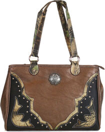 Way West Women's Camo Overlay Concealed Carry Handbag, , hi-res