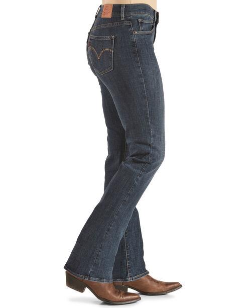 Levi's Women's Indigo Classic Jeans - Boot Cut , Indigo, hi-res
