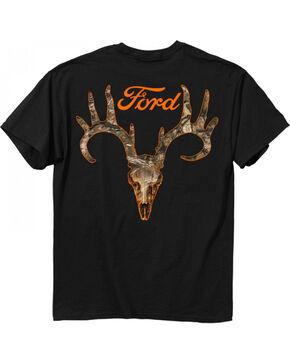 Buckwear Men's Ford Camo Logo Tee, Black, hi-res